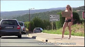 Watch video sex new Flashing and nude in public hitchhiking HD online