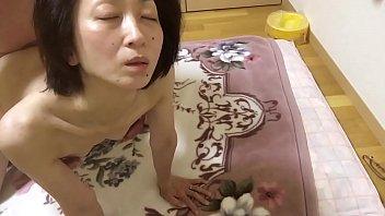 Miyuki agonizing at a cotton cock