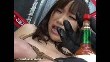 Intense Japanese Device Suspension Bondage Sex