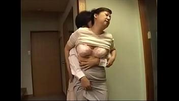 Watch video sex Japanese step mom milf with big tits getting pleasured HD