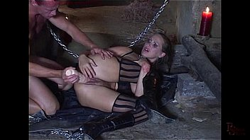 Mandy's gets extreme treatment and double penetrated.
