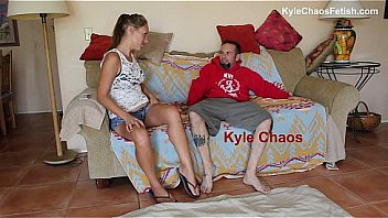 Hypersexual Stripper Mother Teases and Wrestles Son