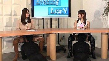 MLDO-088 Delusional leg & boots news station. Mistress Land