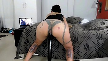 PERLA LOPEZ NINFOMANA, THE PSYCHOLOGIST, is going to spend the weekend at her house in between rivers, to watch her movies and masturbate beautifully, surprises rough sex part 5 chapter 34