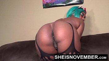 Big Ass Young Black Girl JOI