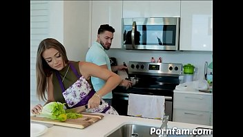 Havana Bleu As a Sexy Mommy Showing Her Ass to Pervy Son