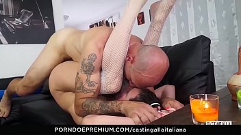CASTING ALLA ITALIANA - Raunchy audition for italian amateur with anal sex