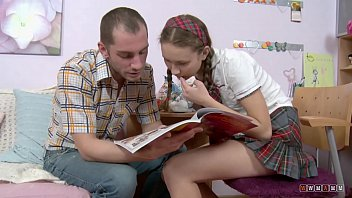 School Uniform is a winning combination for Doggy Anal Banging