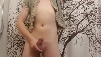 Cute Femboy strip teases for cam