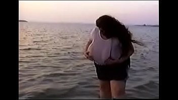 eMelons Clothed and Wet in the Ocean