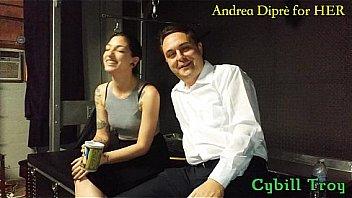 Mistress Cybill Troy squeezes Andrea Diprès balls - XNXX.COM