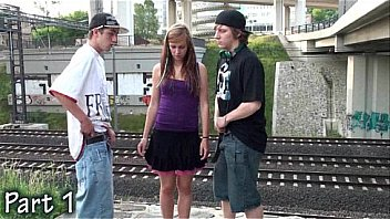 Teen Public Gangbang