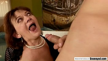 Old Granny still loves hardcore sex with much younger guys