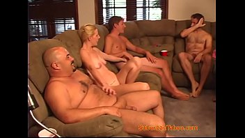 Mom and Dad Bring Home the Orgy for the Babysitter