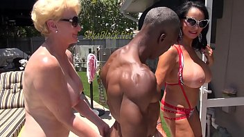 Seka and Rita Play with Interracial Body Builder