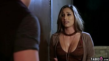 Big boobs MILF with a vision visits a devout holy man