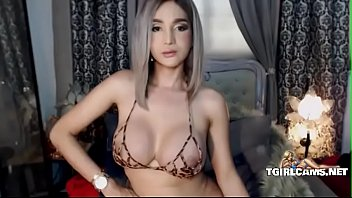 Pretty shemale with big boobs jerks dick - tgirlcams.net