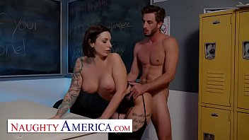 Ivy LeBelle has the hot's for Lucas in her class room