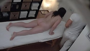 Girl gets her pussy fingered while getting a massage