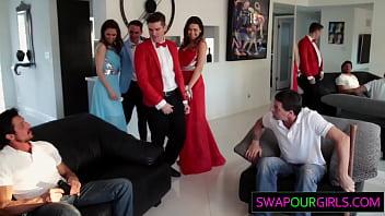 Daughter swap prom night