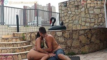 Lorena e Lucão fudendo muito gostoso na cobertura (participação Lunna Vaz e Barbara Alves )