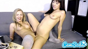 Babysitter gets seduced by mom on cam