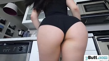 Big White ass fucked and rides long cock