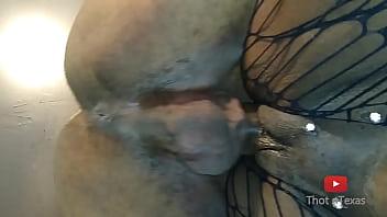 Nigerian black lagos naifi girl wet cream pussy banging a big dick