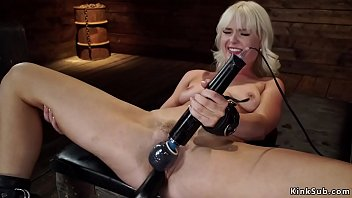 machine and by girl fucked bound