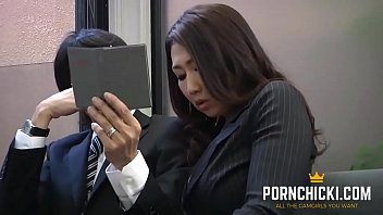 Asian Japanese Clerk Seduces Patron - Pornchicki.com