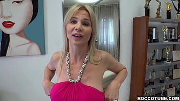 Mature chick Nadya Basinger is having a casting interview with Rocco talking about their fetishes.And she wants to get fucked in all of her holes