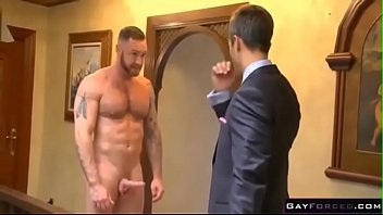 Step Dad being fucked by son
