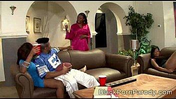 Begining of the movie Boys N the Hood black porn parody