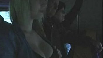Blonde Gropers By Hot Old Bus On Groped#1