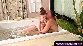 Sexy Wet Blowjobs and Handjobs from Nuru Massage 06