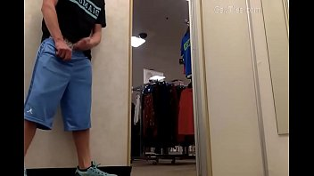 Department Store Public Jerk Off