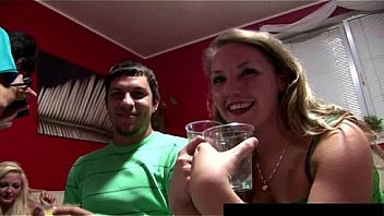 Amateur Couples Swinging at Home Party