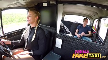 Female Fake Taxi Hot sexy minx desires dick in her pussy