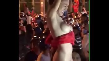 Vietnam girl public nudity