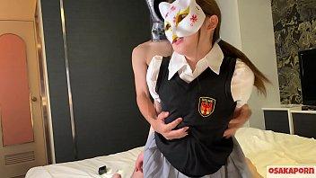 学生服の狐さん ガチイキ美乳ドエロ21歳が絶頂祭り SEX大好き さくらに中出し 絶頂 つるぴた コスプレ アクメ 制服 セーラー服 本番 ver さくら 7 OSAKAPORN