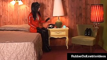 Horny Hotel Client, RubberDoll, gets her pussy finger fucked by a Latex French Maid who loves pleasuring the Hotel's finer lesbian guests! Full Video & RubberDoll Live @ RubberDoll.com!