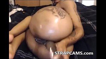 big ass ebony anal dildo