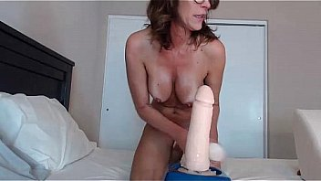 Sexy Mom Rides Big Black Cock