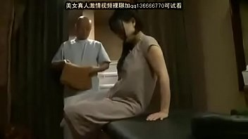 Japanese girl get massage