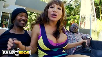 BANGBROS - Interracial Big Black Cock Threesome For Thicc Cougar Ava Devine!