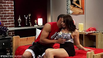 Big Titty Glamour Babe Chanel Preston rides the Champions 8 inch cock