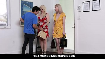 StepSiblings - Two  Stepsisters Rammed By Their Pervy Brother
