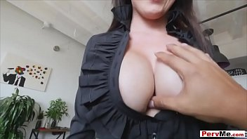 I did fuck my classy businesswoman looking hot stepmom