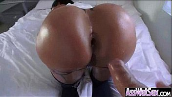 Anal Hardcore Sex Act With Big Wet Oiled Butt Naughty Girl (jewels jade) video-15