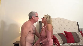 Mature couple get it on